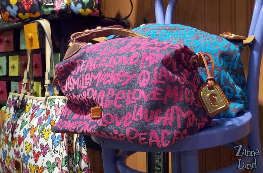 Peace Love Mickey Denim Weekender