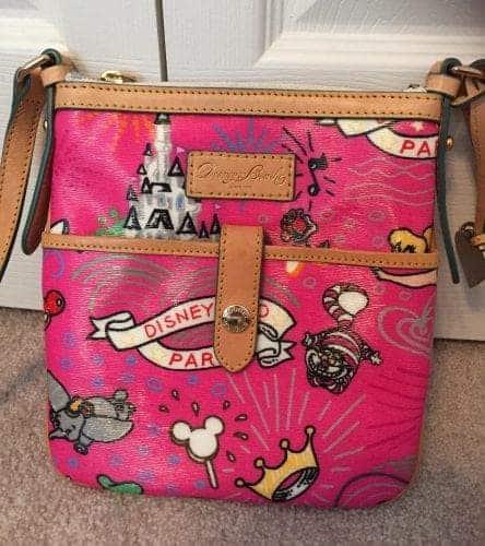 Disneyland Paris Sketch Pink Crossbody