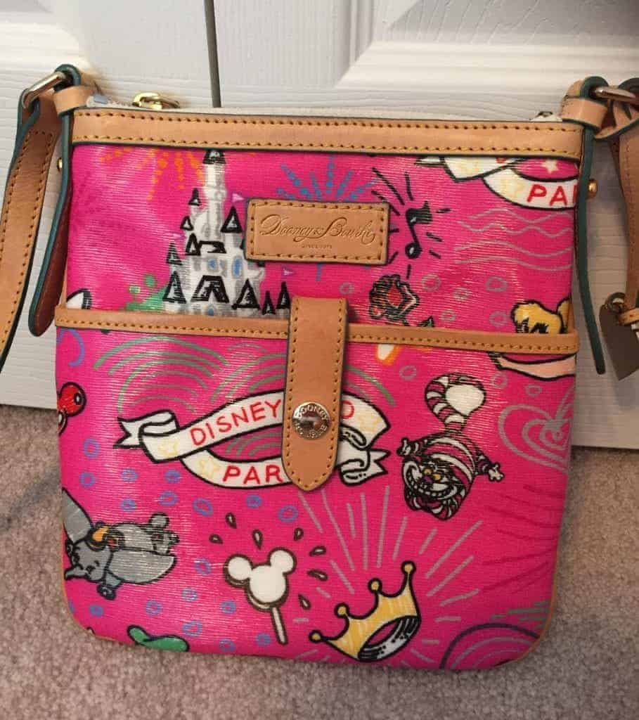 Disneyland Paris Sketch Pink Crossbody