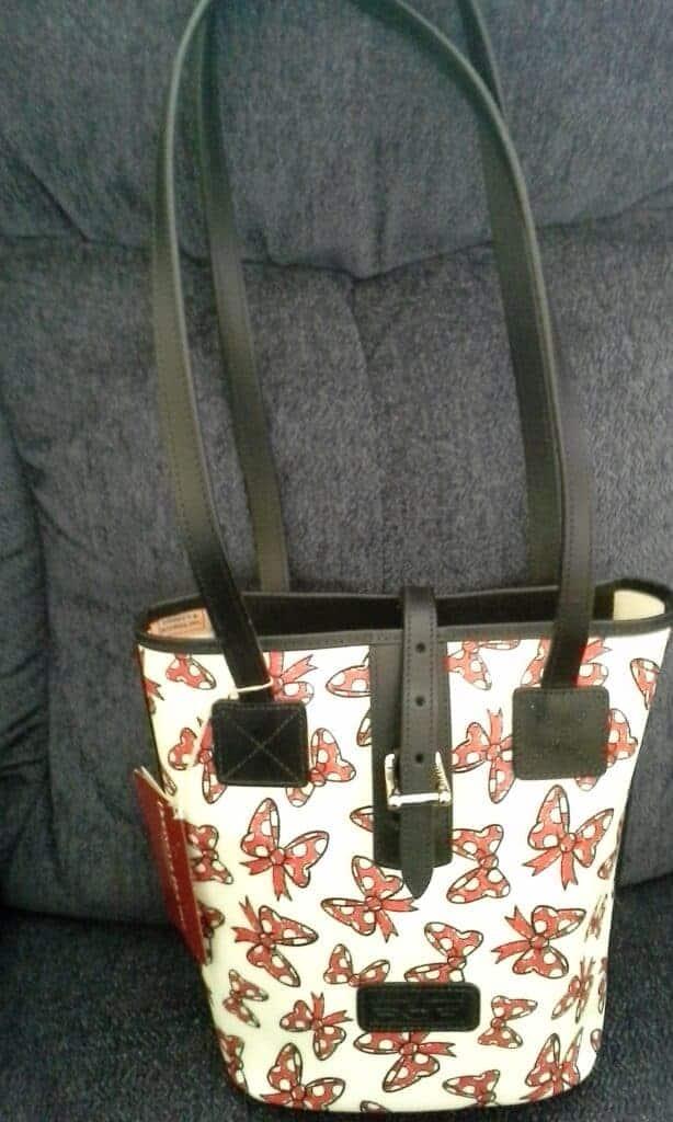Minnie Bows Little Bucket Bag by Dooney & Bourke