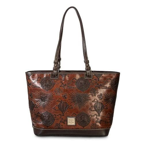 DVC Brown Leather Tote