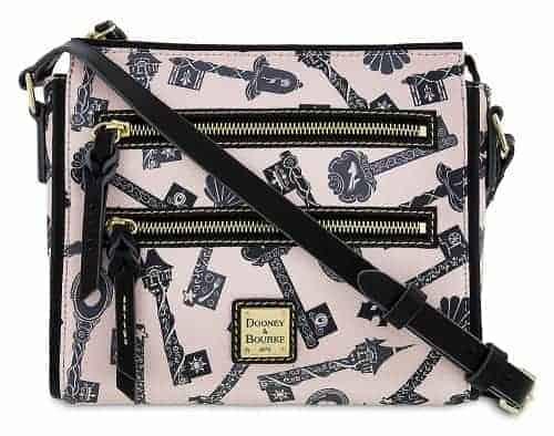 Princess Keys 2 Zipper Crossbody