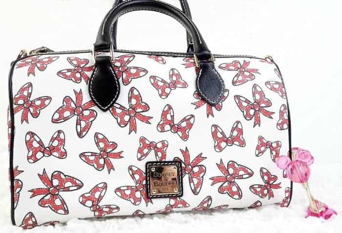 White Minnie Bows Satchel