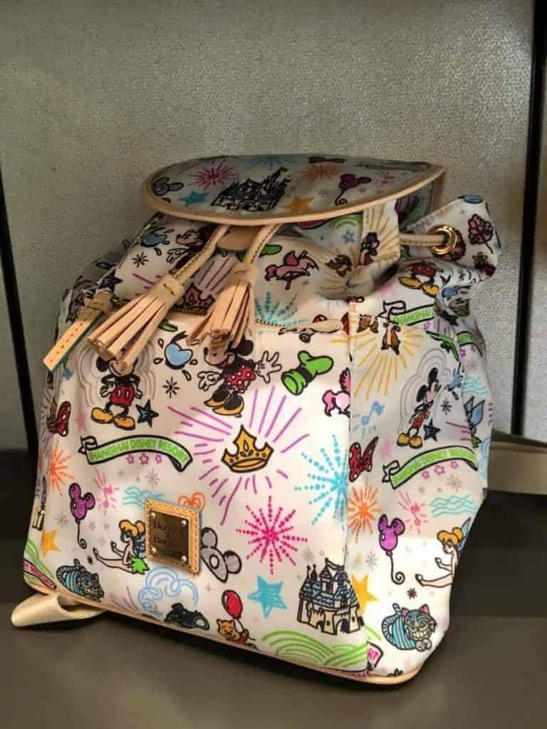 Shanghai Disneyland Sketch Backpack