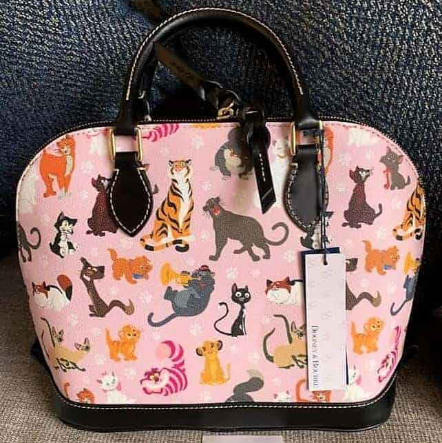 Disney Cats 2019 Annual Passholder Satchel (back)