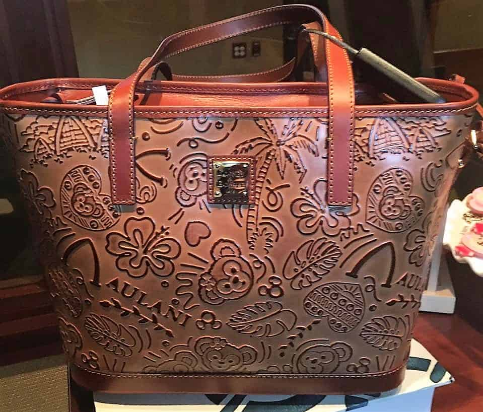 Aulani Duffy Embossed Leather Sketch