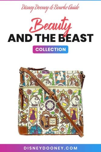 Pin me - Disney Dooney and Bourke Beauty & the Beast Stained Glass Collection