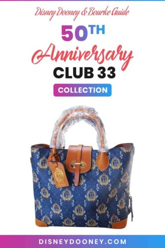 Pin me - Disney Dooney and Bourke Club 33 50th Anniversary Collection