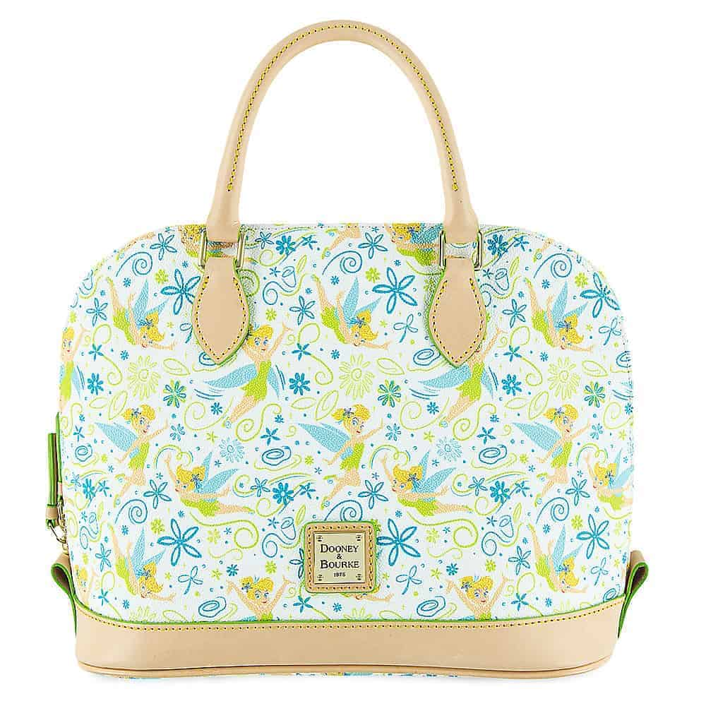 #8 - Tinker Bell White Floral by Disney Dooney & Bourke