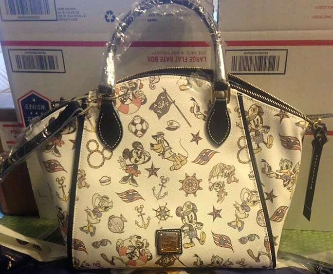 DCL Mickey & Friends Satchel