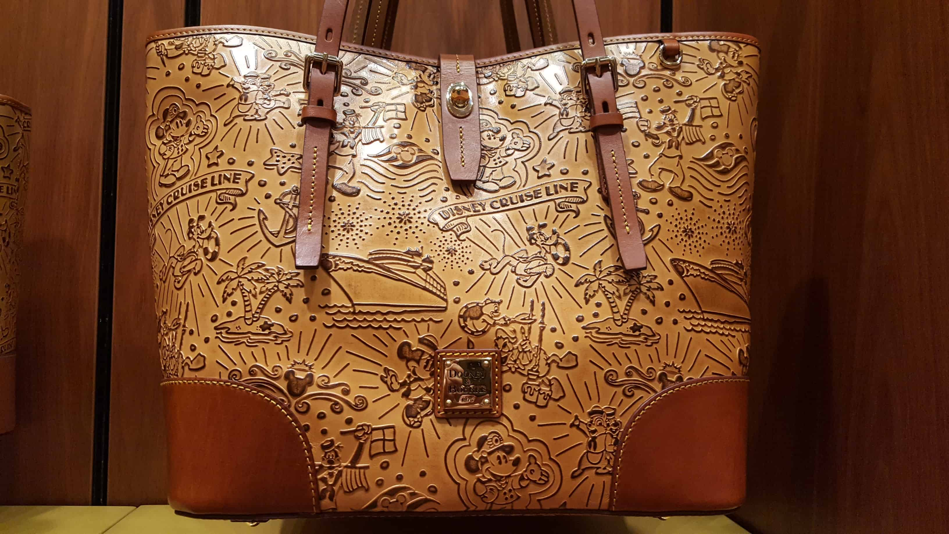 DCL Brown Sketch Tote