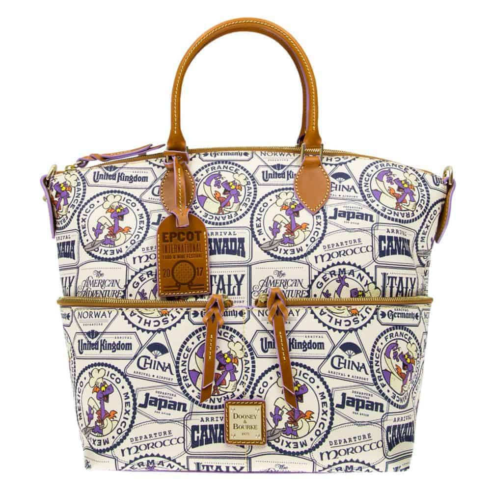 2017 Food & Wine Passholder Satchel