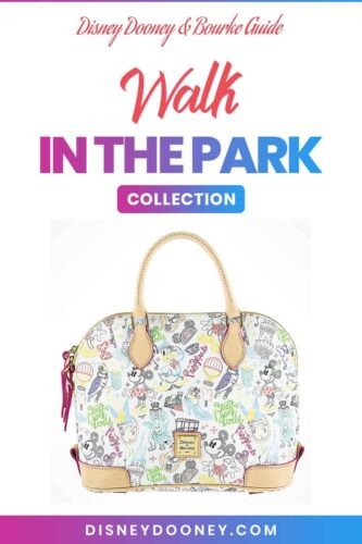 Pin me - Disney Dooney and Bourke Walk in the Park Collection