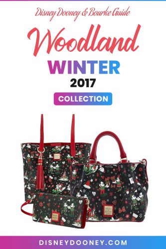 Pin me - Disney Dooney and Bourke Woodland Winter 2017 Collection