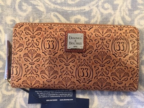 Club 33 Embossed Leather Wallet