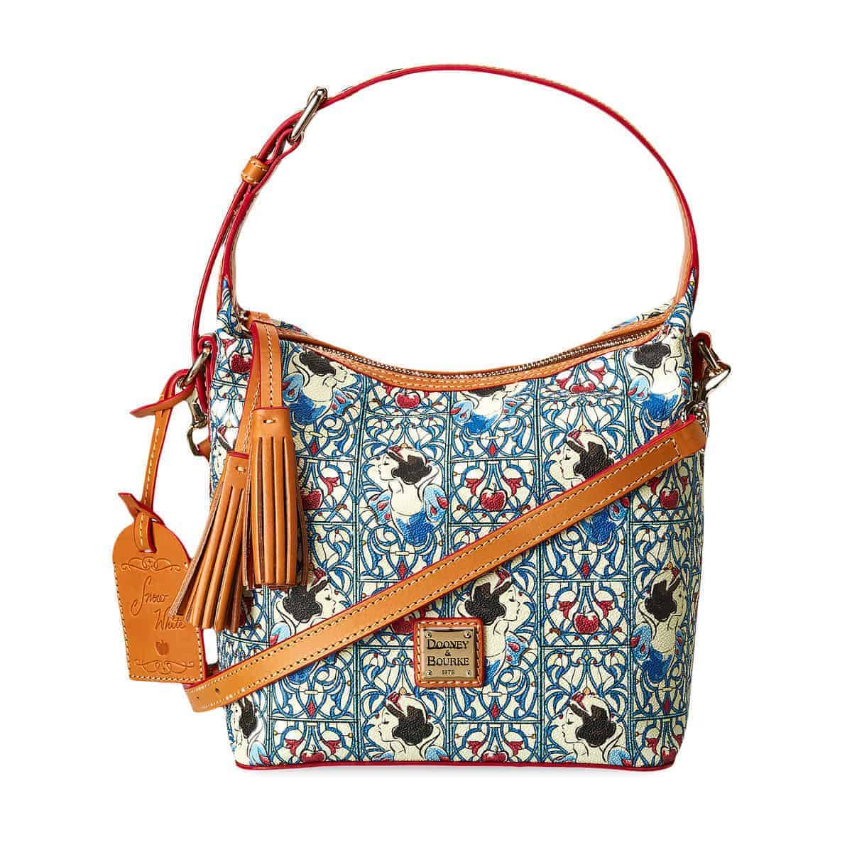 Snow White Tassel Crossbody