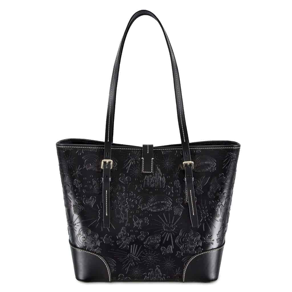 Black Sketch Tote (back)
