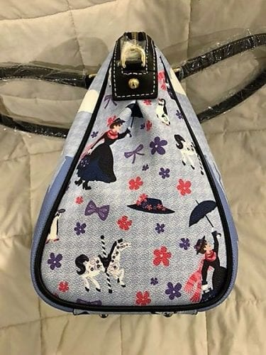 Mary Poppins Satchel: side view