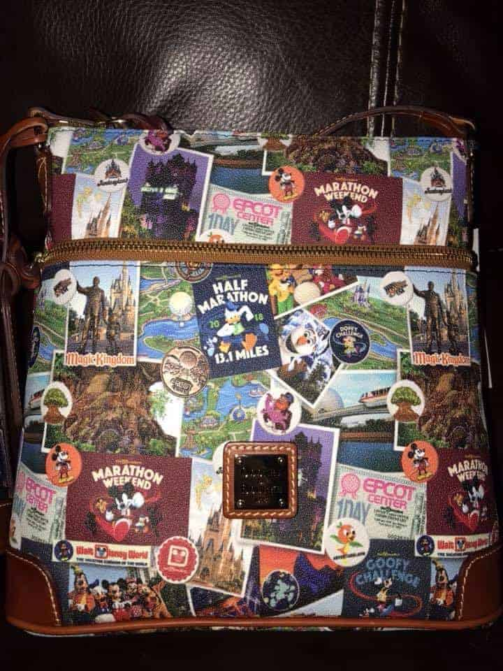Disney World Marathon 2018 Crossbody