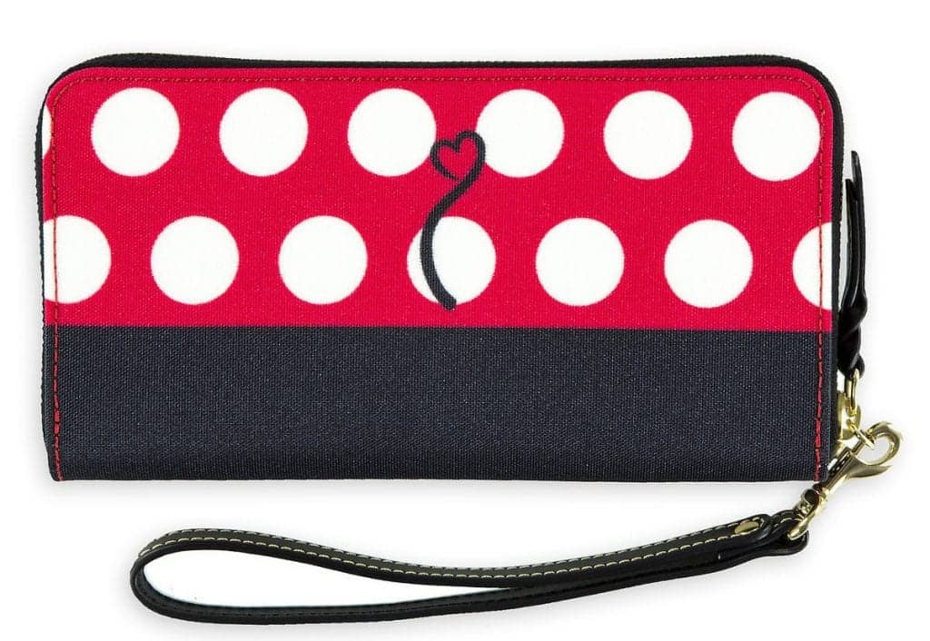 Minnie Mouse Rock the Dots Wallet (back)