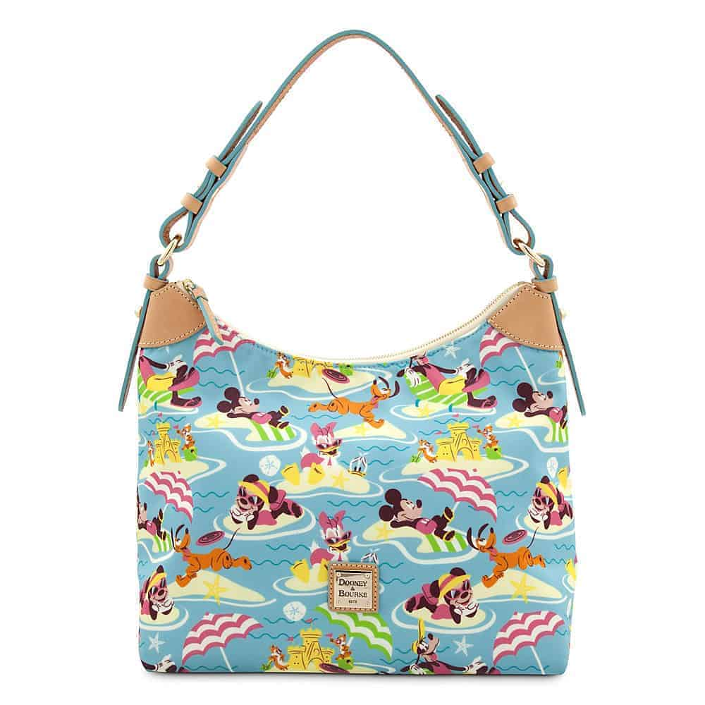 Beach Nylon Hobo Satchel
