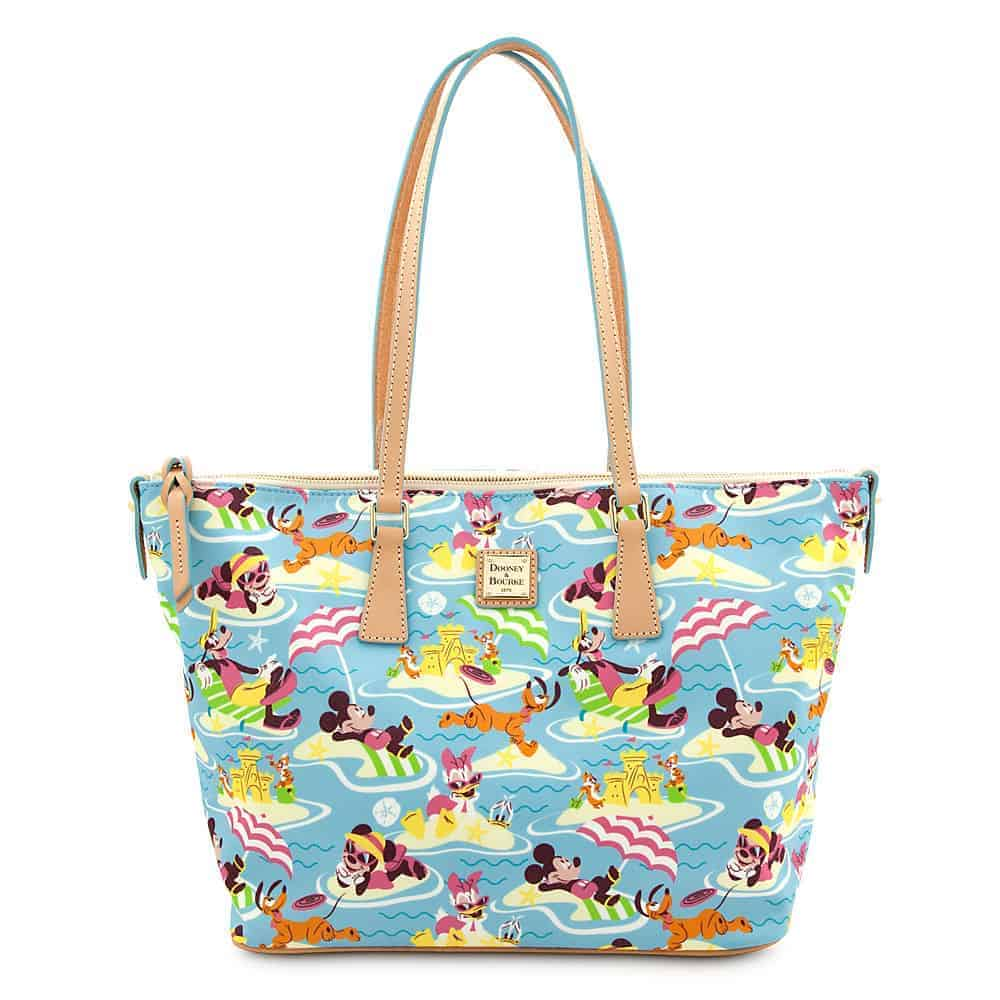 Beach Nylon Shopper Tote
