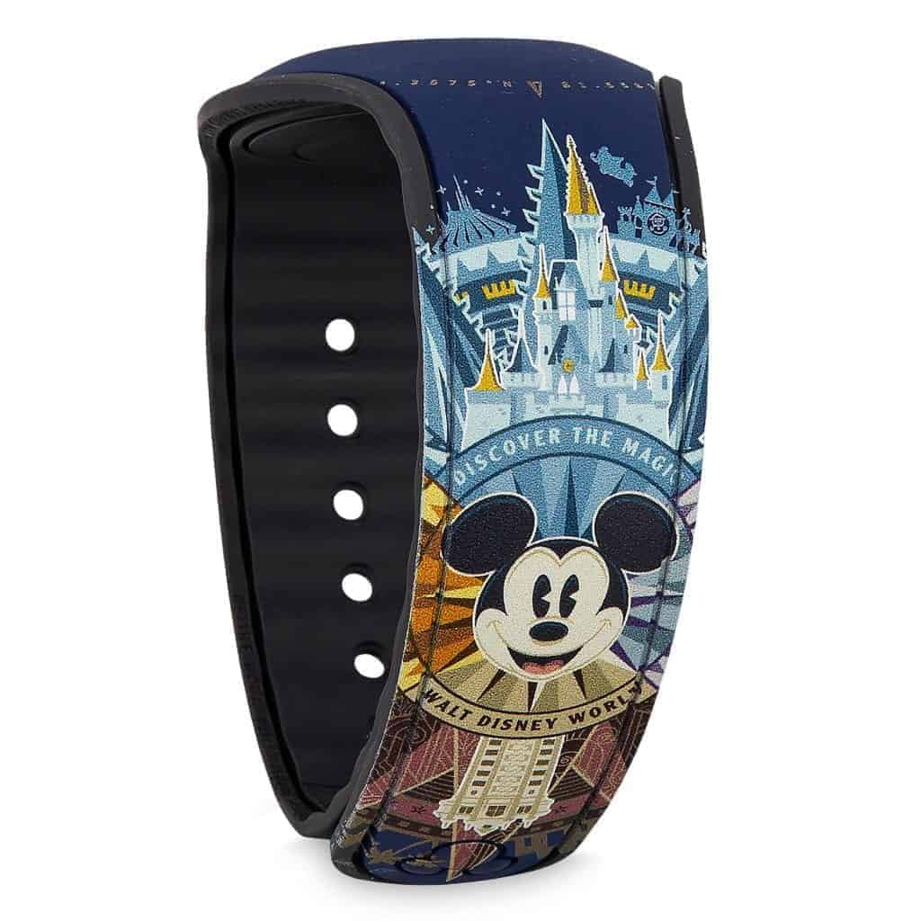 WDW Passport Blue MagicBand (back)