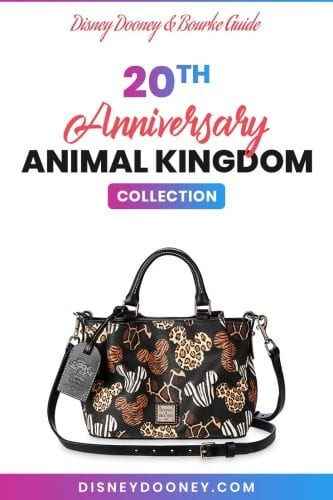 Pin me - Disney Dooney and Bourke Animal Kingdom 20th Anniversary Collection