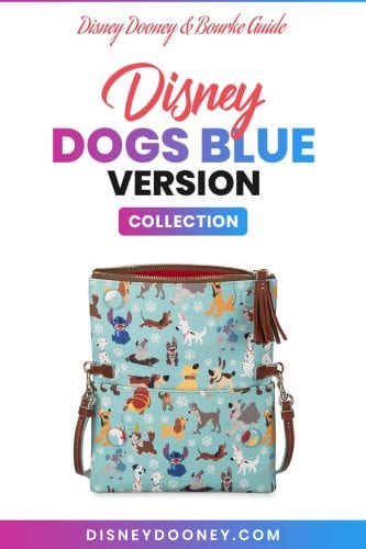 Pin me - Disney Dooney and Bourke Disney Dogs Blue Version Collection
