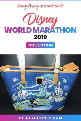 Pin me - Disney Dooney and Bourke Disney World Marathon 2019 Collection
