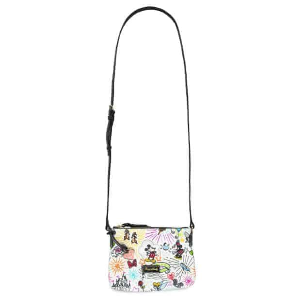Disney Sketch 2018 Nylon Crossbody (strap)