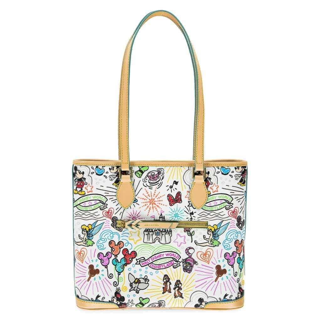 Disney Sketch 2018 Shopper (back)