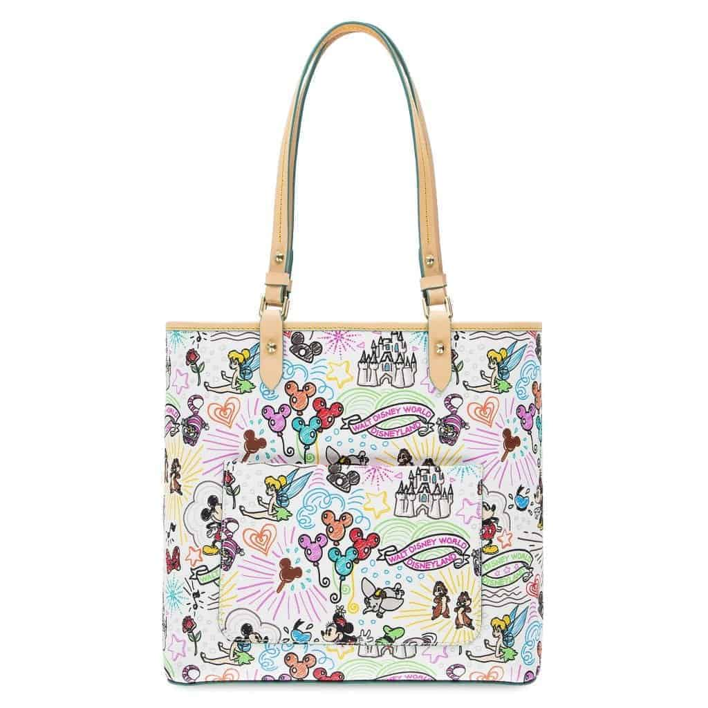 Disney Sketch 2018 Tote (back)