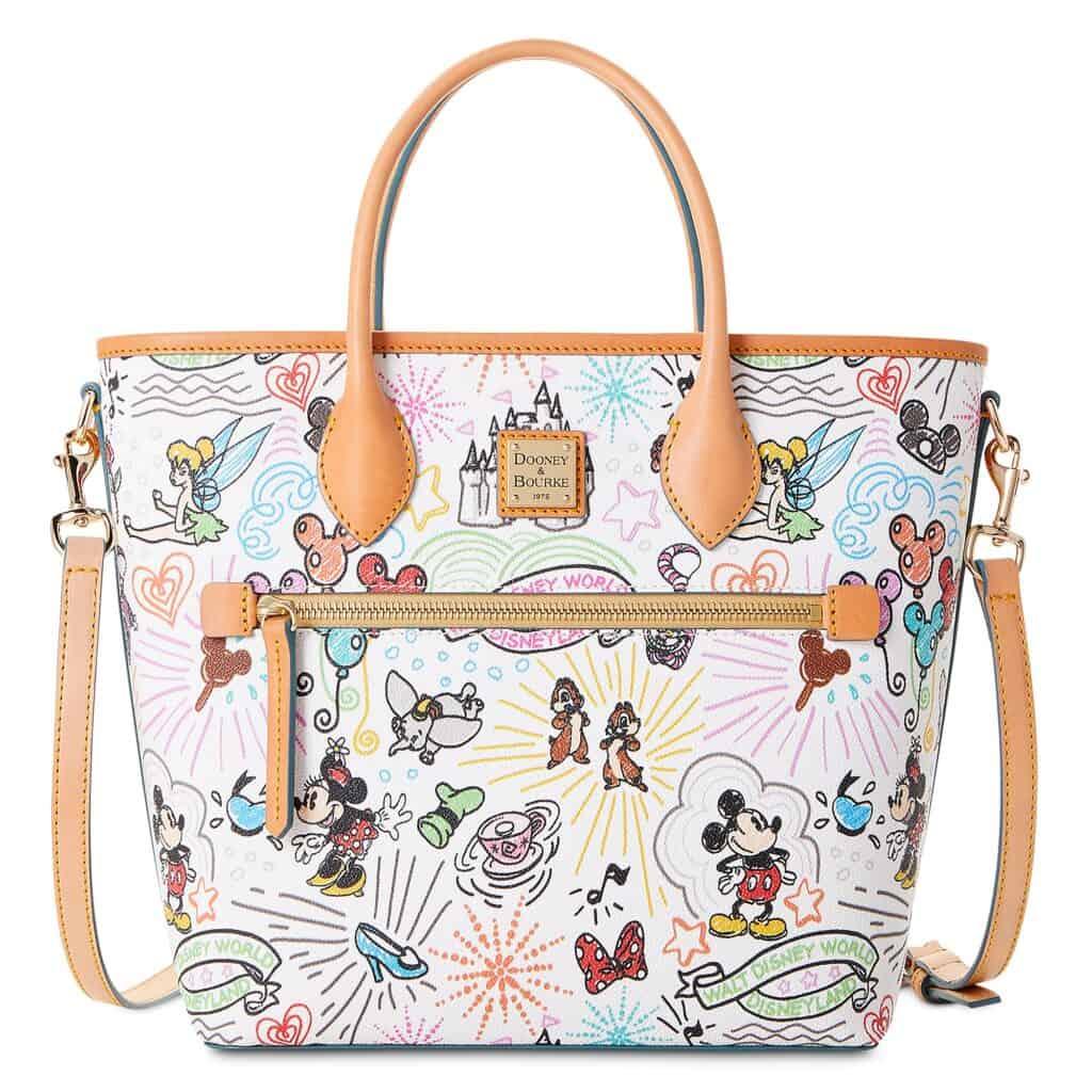 Disney Sketch 2021 Handle Tote Bag by Dooney & Bourke