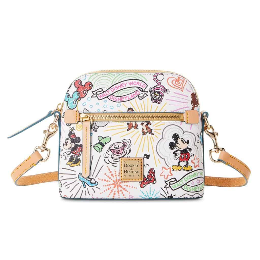 Disney Sketch 2021 Crossbody Bag by Dooney & Bourke