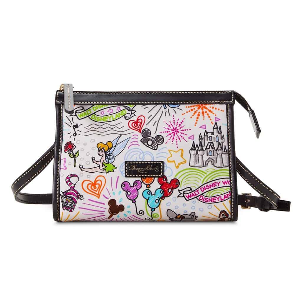 Disney Sketch 2021 Nylon Crossbody Bag by Dooney & Bourke