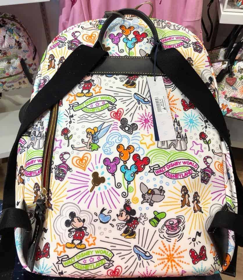 Sketch Large Backpack (back)