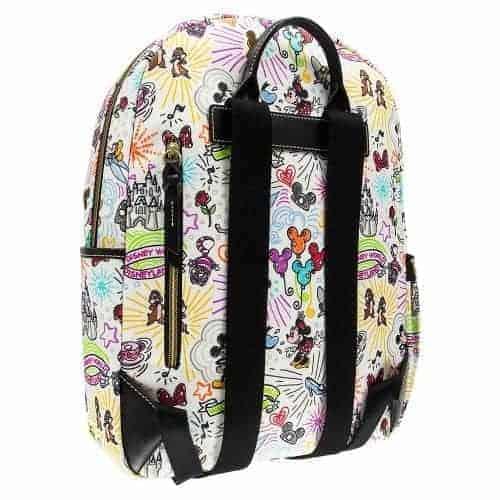 Sketch Large Backpack Back