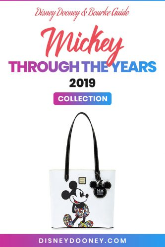 Pin me - Disney Dooney and Bourke Mickey Through the Years 2019 Collection