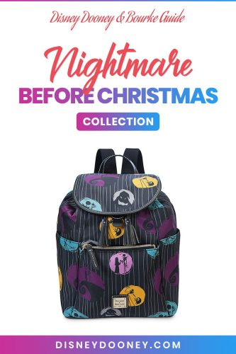 Pin me - Disney Dooney and Bourke Nightmare Before Christmas Collection
