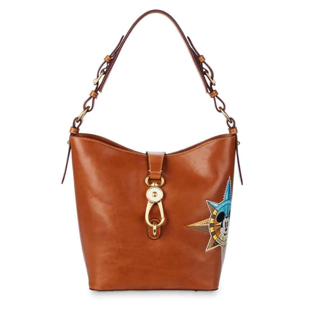 Passport Leather Satchel Disneyland