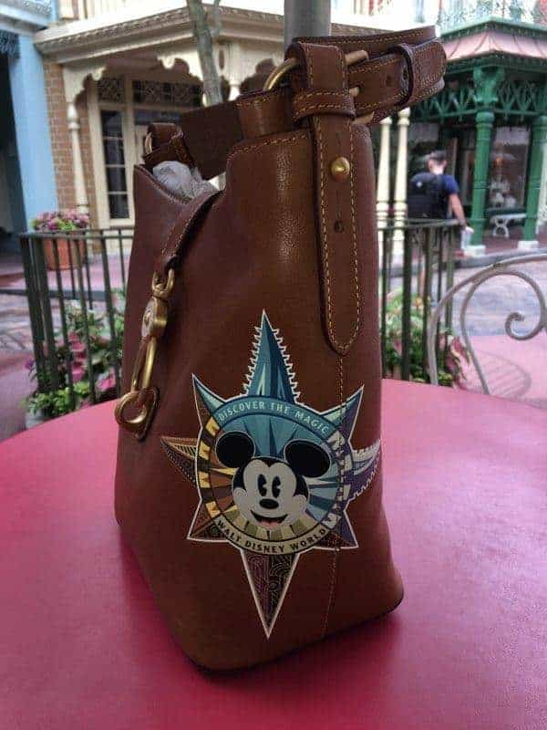 WDW Passport Leather Design