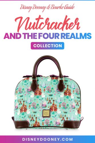 Pin me - Disney Dooney and Bourke Nutcracker and the Four Realms Collection