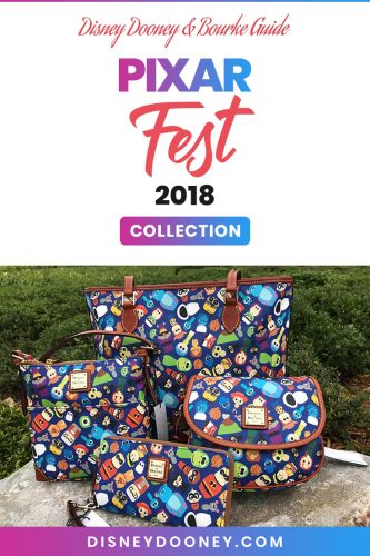 Pin me - Disney Dooney and Bourke Pixar Fest 2018 Collection