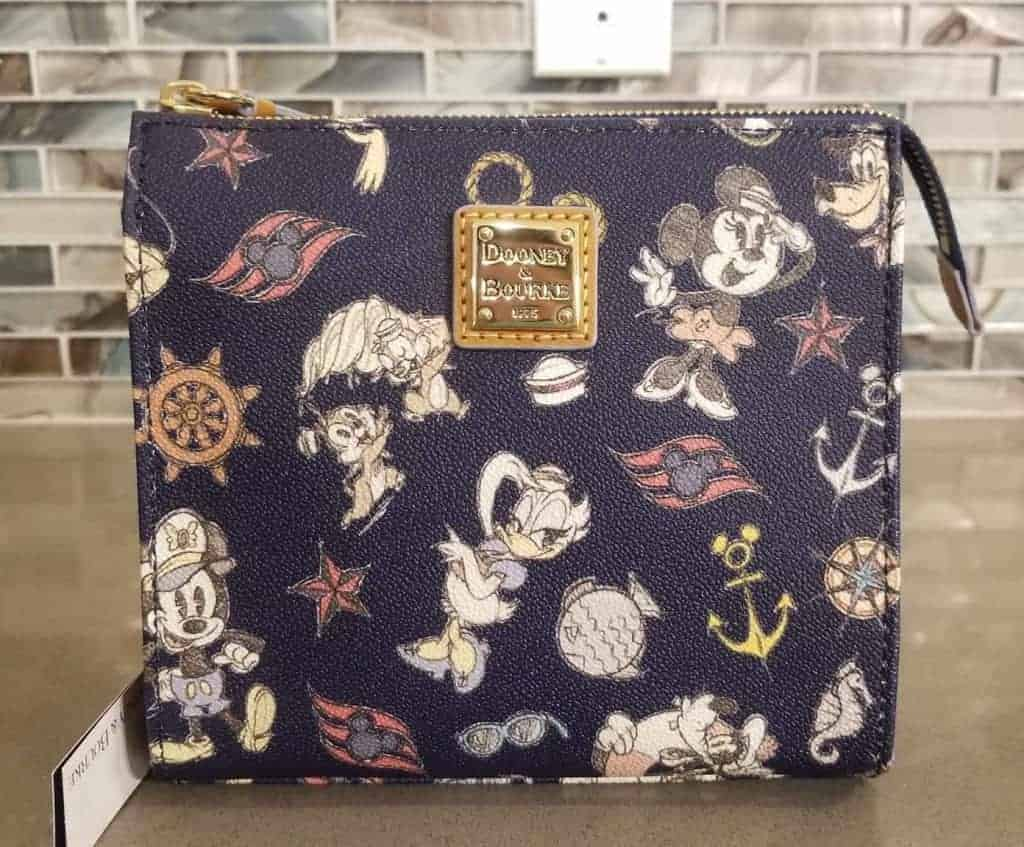 DCL Mickey & Friends Navy Crossbody
