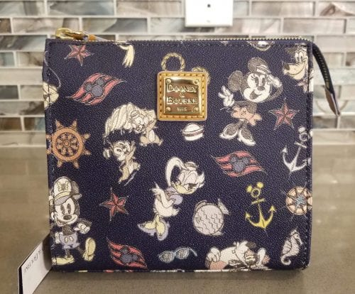 DCL Mickey & Friends Navy Crossbody