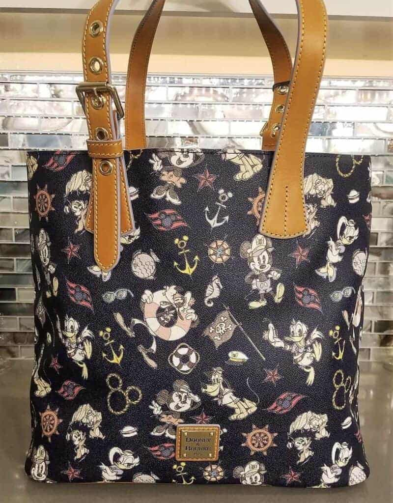DCL Mickey & Friends Navy Tote