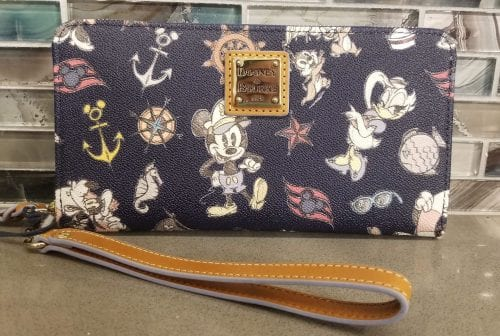 DCL Mickey & Friends Navy Wallet