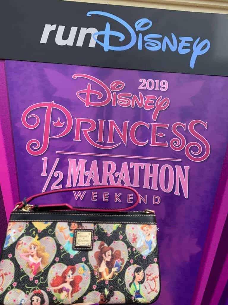 Princess Half Marathon 2019 Wristlet