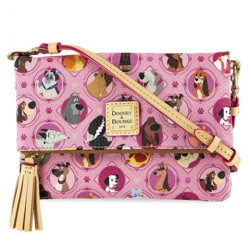 Pink Disney Dogs Crossbody